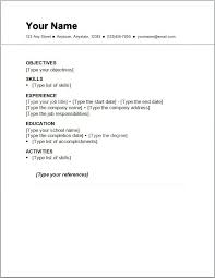... Doc612792 Simple Resume Cover Letter Examples Simple Job Simple Job  Resume