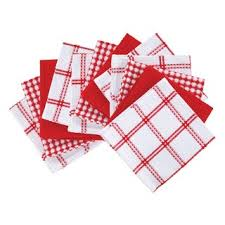 Shop T-Fal Textiles 12-<b>piece</b> Flat Waffle Cotton <b>Kitchen Dish Cloth</b> ...