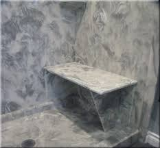 cultured marble shower seat shower bench
