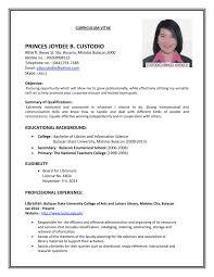 How To Write Basic Resume Basic Resume Examples For Part Time Jobs Job Resume How Write Mshj 8