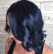 Blue Black Hair 2018 S Most Popular Shades Are Right Here