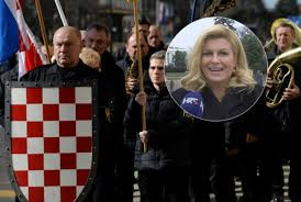 Image result for kolinda grabar-kitarović photos i andrej plenkovic sa Marko Perković Thompson.