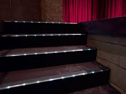home theater floor lighting. home theater step lighting floor o