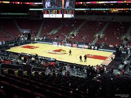 Yum Center Seating Chart Women S Basketball Kfc Yum Center Section 104 Louisville Basketball