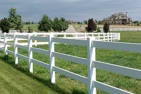 vinyl fencing. Vinyl Ranch Rail Fence Fencing F