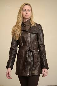 higgs leathers 32 to 40 bust kazzi las brown designer leather