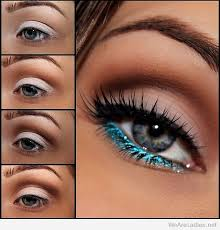 stunning blue eye makeup tutorial