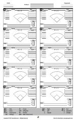 Baseball Charts Printable Gamegrade Charts