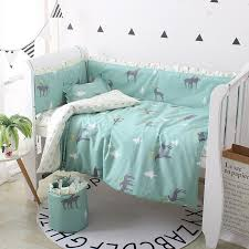 set cute baby bedding set cotton baby bedding set including pers soft per for cot crib pers four seasons childrens full size bedding kids