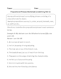 Englishlinx.com | Prepositions Worksheets