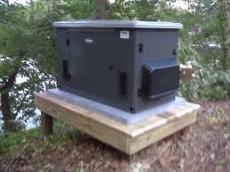 generac generator installation. Briggs \u0026 Startton 20kW Air Cooled Generator On Platform Installed By Northern Neck Generac Installation C