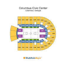 Columbus Ga Civic Center Seating Chart Columbus Civic Center Events And Concerts In Columbus