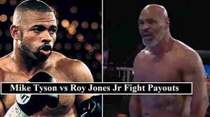 Has officially been moved to nov. Mike Tyson Vs Roy Jones Jr Purse Payouts Ppv Bonus Money