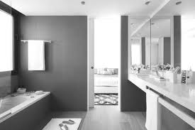 black white and tiffany blue bathroom white stained wooden framed wall mirror floating white wooden barthroom