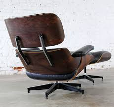 eames chair vintage for sale. vintage eames lounge chair \u0026 ottoman in black leather rosewood by herman miller for sale i