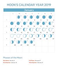 Full Moon Chart 2019 January 2019 Full Moon Calendar And Dates Calendar June