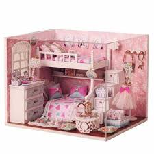 where to find dollhouse furniture. Plain Find Cuteroom DIY Wood Dollhouse Kit Miniature With Furniture Doll House Room  Angel Dream Where To Find