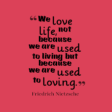 Friedrich Nietzsche Quote About Love