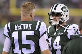 New York Jets Depth Chart 2018 Jets Mccown Still Leads Competes Even As Darnold Emerges