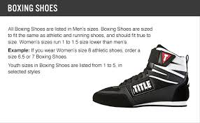 Title Boxing Tbs 7 Box Star Incite Elite Boxing Shoes