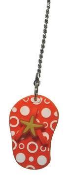 Fan Pull Chain Ornaments Fascinating Flip Flop Sandal Ceiling Fan Pull Chain Ornament Summer Beach