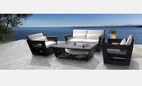 black patio 5 pcs set vg09 black outdoor furniture