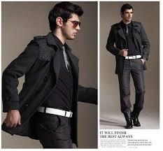 men coat fashion trend men trench coat overcoat for men