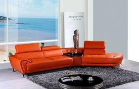 Orange Sofa Living Room Modern Orange Sofa Modern Sofa Collections Anna Sofa Collections