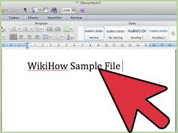 How To Use Microsoft Word 2007 9 Steps With Pictures Wikihow