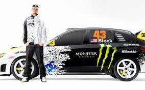 Cars Drifting Ken Block Monster Energy Subaru Walldevil