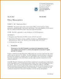 7 Policy Memos Examples Letterhead Template Sample Memo Format ...