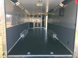 cargo trailer flooring new 2016 cargo mate eliminator 28 race trailer 16 500 obo