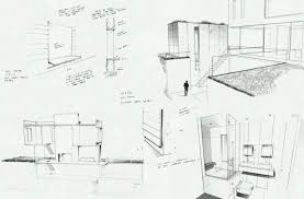 modern home architecture sketches. Simple Modern Houses Interior Design Drawing Modern Home Architecture Sketches Sketch  House Point Perspective View Contemporary Designs Low Budget Bedroom Floor Plans  With F