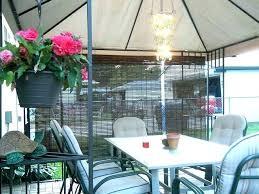 peaceful outdoor chandelier for gazebos l5521533 outdoor gazebo chandelier plug in