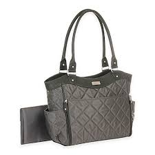 carter's® Drop Front Quilted Diaper Bag in Grey - buybuy BABY & carter's® Drop Front Quilted Diaper Bag ... Adamdwight.com