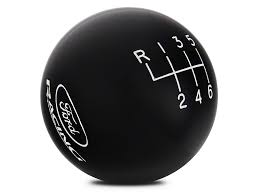 black ford racing logo. ford performance 6speed shift knob w racing logo black 15