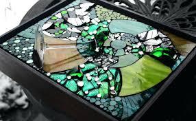 broken glass mosaic tile prepare discover ease beauty of tiling broken glass mosaic