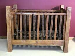 rustic crib furniture. Rustic Crib Furniture. Modren Cribs Barn Wood Baby With Thick Posts Grey Furniture L