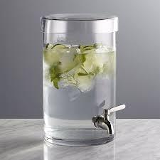 glass beverage dispenser core 2 gallon mason jar with chalkboard