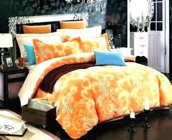 image from orange and blue duvet cover king size comforter sets duvet cover burnt orange new set full bed sheets home improvement blue and orange