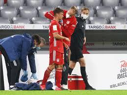 FC Bayern: Blutiger Kimmich-Schock - Brutalo-Tritt von Frankfurts Dominik  Kohr im Video