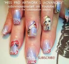 Robin Moses Nail Art: glitz nails, glamour nails, celebrity nails ...
