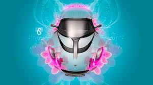 lotus elise up fantasy flower car