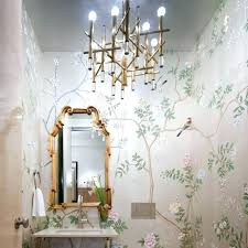 powder room lighting. Powder Room Lighting Ideas Chandelier Floral Small Modern .