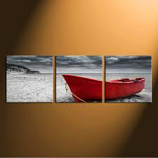 3 piece canvas wall art home decor black and white group canvas sea on boat canvas wall art with 3 piece huge canvas print black and white canvas wall art ocean