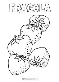 Disegni Di Frutta Da Stampare E Colorare Pianetabambiniit