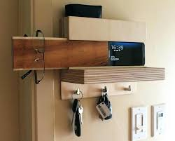 key organizer wall challenge holder for entryway mail modern wooden organi entryway mail