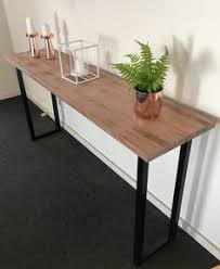 recycled industrial furniture. recycled tasmanian oak industrial hall table made by recycledtimberfurnitureozcom furniture
