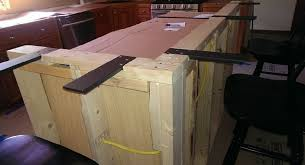 granite countertop overhang support stunning bracket standard with 4 off set mounting holes for interior design