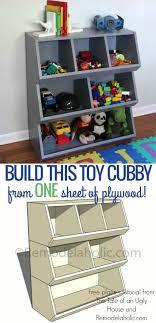 Diy Built In Storage Best 25 Diy Toy Storage Ideas On Pinterest Kids Storage Toy
